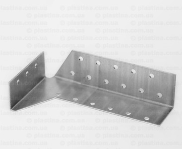 Крепление раздельное внутреннее правое 32x100x75x2,0мм, CWBW-2P