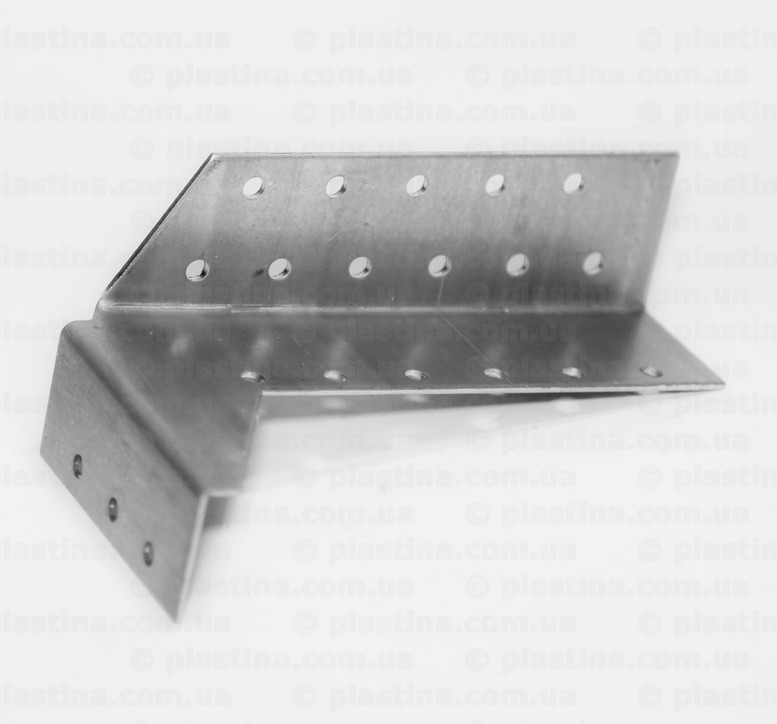 Крепление балок раздельное открытое левое 32x150x75x2,0мм, CWDB5L