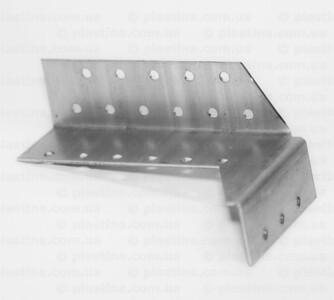 Крепление балок раздельное открытое правое 32x150x75x2,0мм, CWDB6P