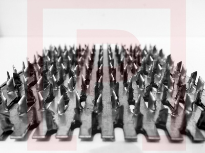Зубчатая пластина МЗП GNA-20 105x100мм, MZP105100  t 1мм, h зуба 8мм.