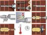 Химический анкер (смола для инъекций) винилэстровый, 380мл Etanco (Fruilsider) под пистолет + 2 смесителя в компл.(арт.KEMV380)