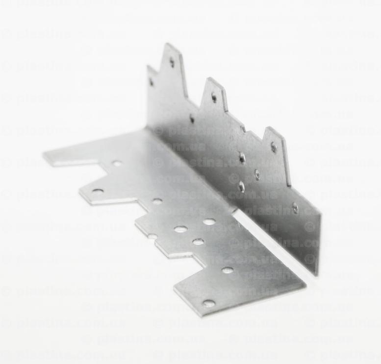 Угольник гнутый KG, 40x40x120х2,0мм