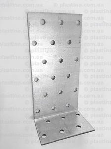 Уголок асимметричный 120x40x60x2,0мм, KK-1246