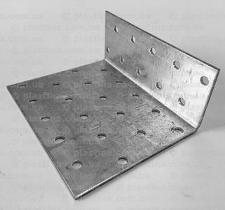 Уголок асимметричный 80x40x100x2,0мм, KK-841