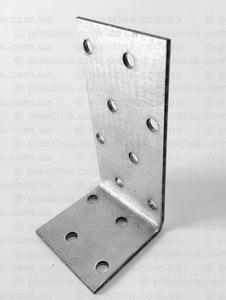 Уголок асимметричный 80x40x40x2,0мм, KK-844
