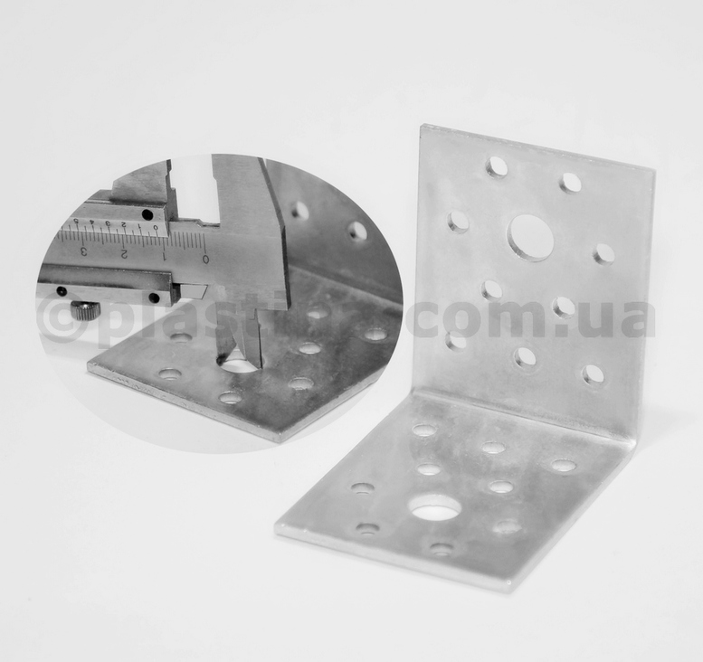 Уголок анкерный 60x60x50x2,5 мм, KL-665