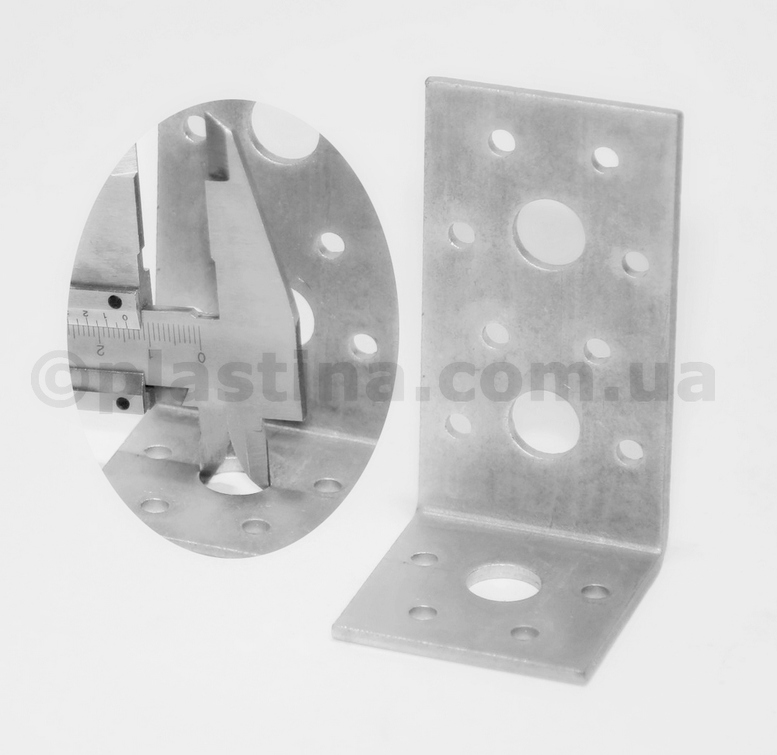 Уголок анкерный 53x93x50x3,0мм, KL-6