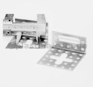 Уголок регулируемый 60x30x60x2,0мм, KN-1
