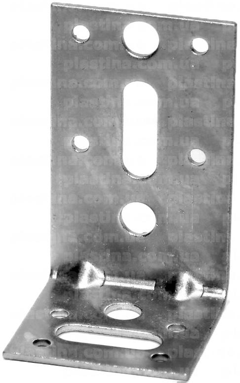 Уголок усиленный 90x50x55x2,5мм, KPW-11
