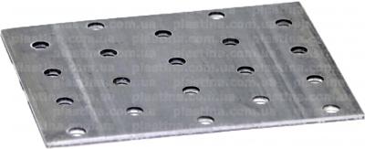 Пластина перфорированная 80x100x2,0мм, LP-14