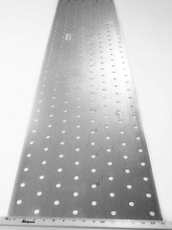 Пластина перфорированная 160x1200x2,0мм, LP-1601200D