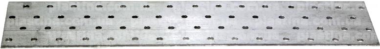 Пластина перфорированная 80x300x2,0мм, LP-20