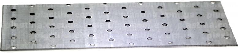 Пластина перфорированная 100x240x2,0мм, LP-23