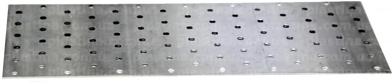Пластина перфорированная 120x300x2,0мм, LP-27
