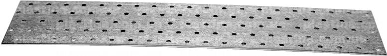 Пластина перфорированная 100x400x2,0мм, LP-41