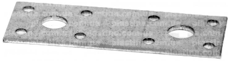 Пластина перфорированная анкерная 100x35x2,5мм, LPS-1