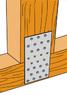 Пластина перфорированная 100x200x2,0мм, LP-21