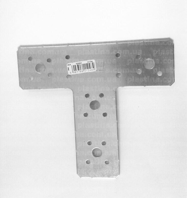 Крепление Т-пластина 160x140x45x2,5мм, LT-160