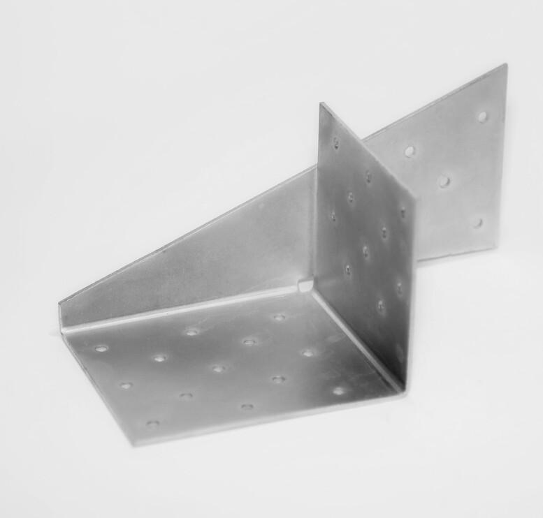 Соединитель универсальный 175x80x90x2,0мм, LU-3L