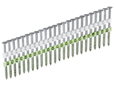Гвозди с насечкой 2,8 x 75 на ленте H17° без покрытия ESSVE (Швеция), (пачка 1300шт)