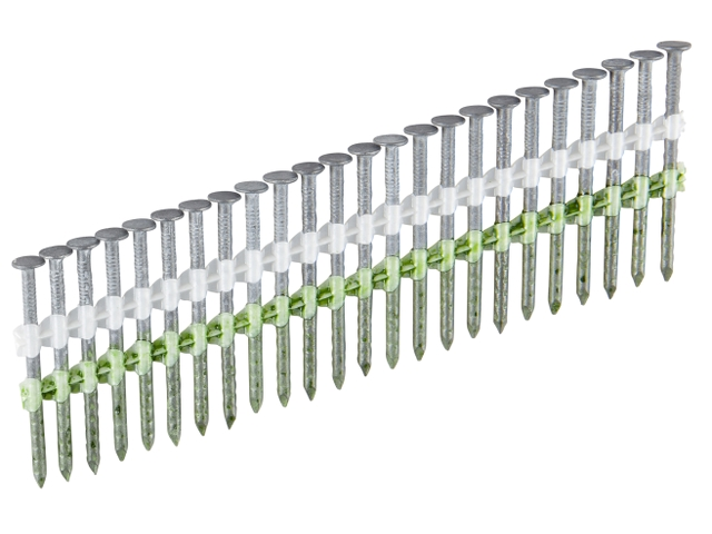 Гвозди с насечкой 2,8 x 60 на ленте H17° без покрытия ESSVE (Швеция), (пачка 1800шт)