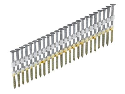 Гвозди с насечкой 2,8 x 75 на ленте H21° без покрытия ESSVE (Швеция), (пачка 1300шт)