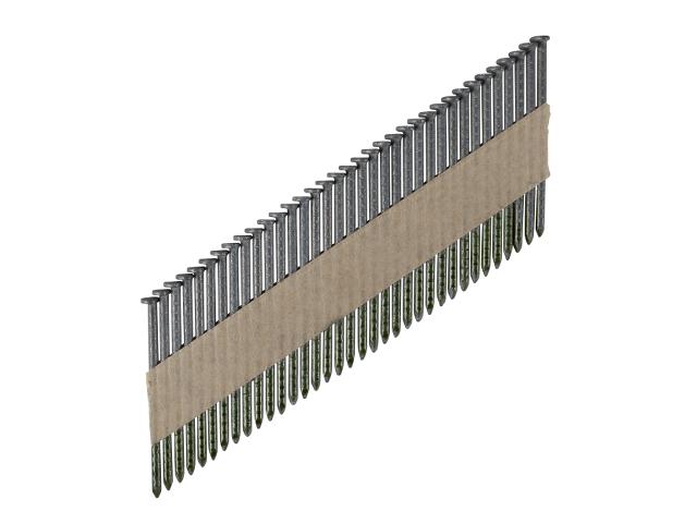 Гвозди гладкие 2,8 x 75 на ленте S34° без покрытия ESSVE (Швеция), (пачка 1300шт)