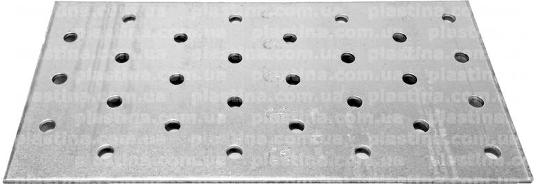 Пластина перфорированная 80x160x2,0мм, PP-0816