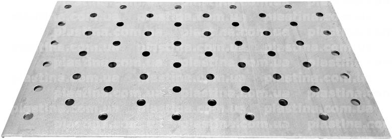 Пластина перфорированная 120x200x2,0мм, PP-1220