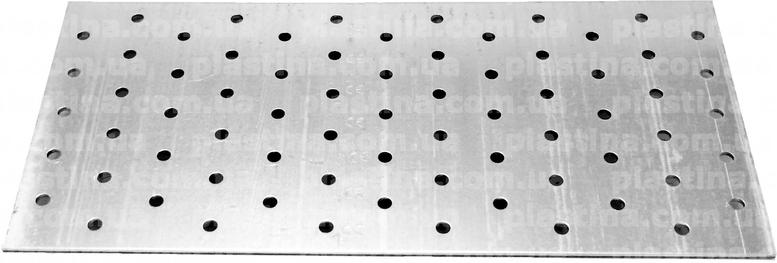 Пластина перфорированная 120x260x2,0мм, PP-1226