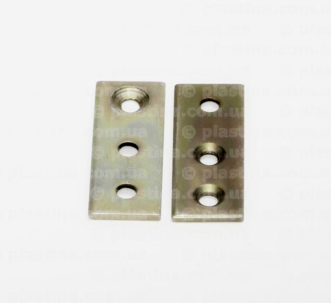 Пластина для террасной доски 20x60х3,0мм, PTD