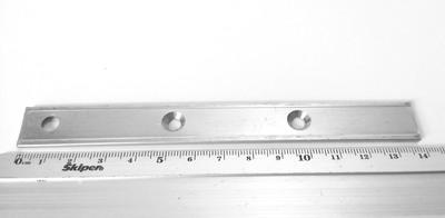 Пластина для террасной доски (змейка) 16x140x2,0мм, PTD140