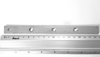 Пластина для террасной доски (змейка) 16x185x2,0мм, PTD185