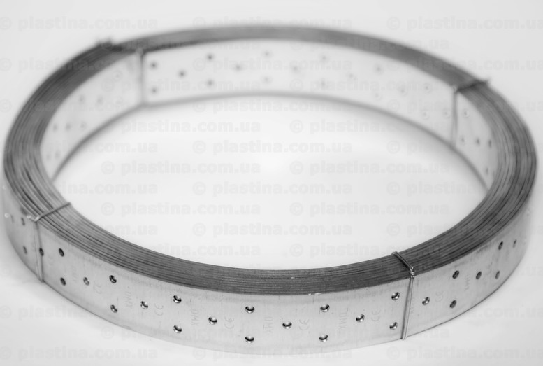 Перфорированная монтажная лента прямая 40x2,0мм x10м, TM2L10