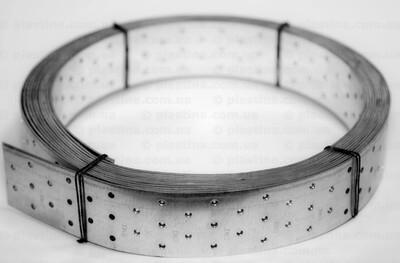 Перфорированная монтажная лента прямая 80x2,0мм x10м, BP-8010A