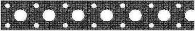 Перфорированная монтажная лента прямая 20x0,75мм x25м, TMP2007525