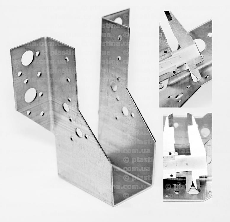 Крепление балок открытое 50x145x75x2,0мм, WB-11