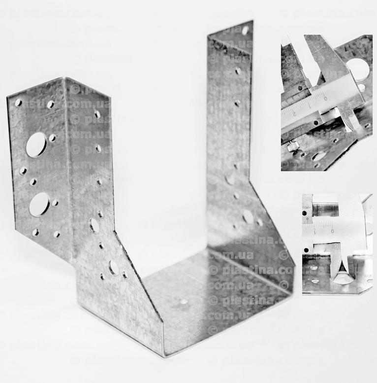 Крепление балок открытое 100x140x75x2,0мм, WB-24
