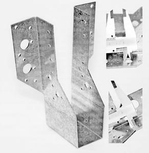 Крепление балок открытое 41x169x75x2,0мм, WB-5