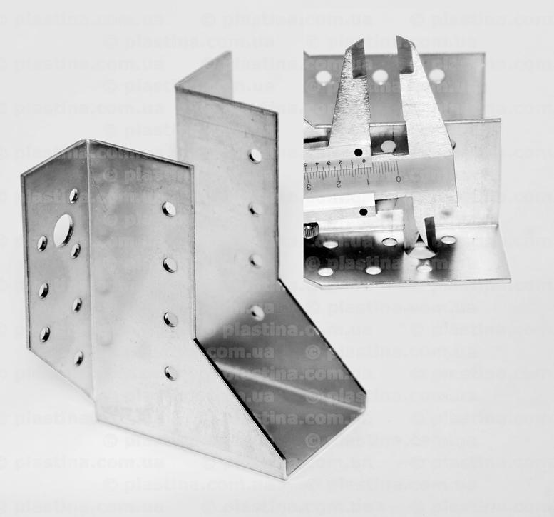 Крепление балок открытое 50x105x80x2,0мм, WB-510