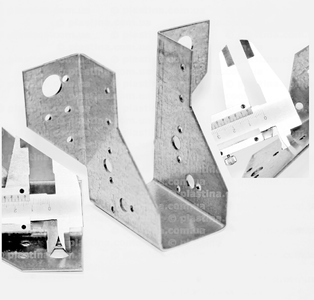 Крепление балок открытое 46x100x75x2,0мм, WB-6