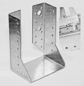 Крепление балок закрытое 100x140x75x2,0мм, WC-1014