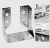 Крепление балок закрытое 120x125x75x2,0мм, WC-5