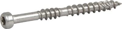 Шуруп нержавеющий для крепления террасной доски, ESSDECK MAX 4,8x55 нерж А2 TX20мм, (пачка 250шт)
