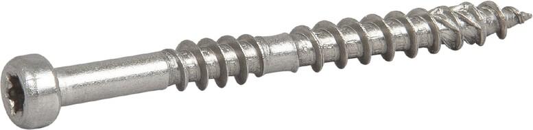 Шуруп нержавеющий для крепления террасной доски, ESSDECK MAX 4,8x42 нерж А2 TX20мм, (пачка 250шт)